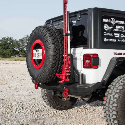 Stealth Rear Bumper Mid Width w/ Tire Carrier Assembly