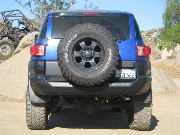 Stealth Rear Non-Winch Bumper