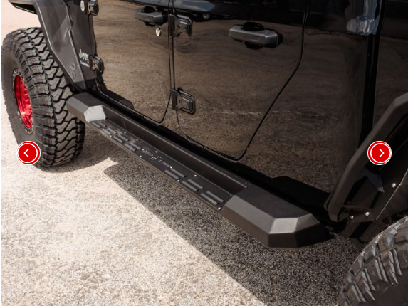 Stealth Running Board Step Gladiator (4 Door)