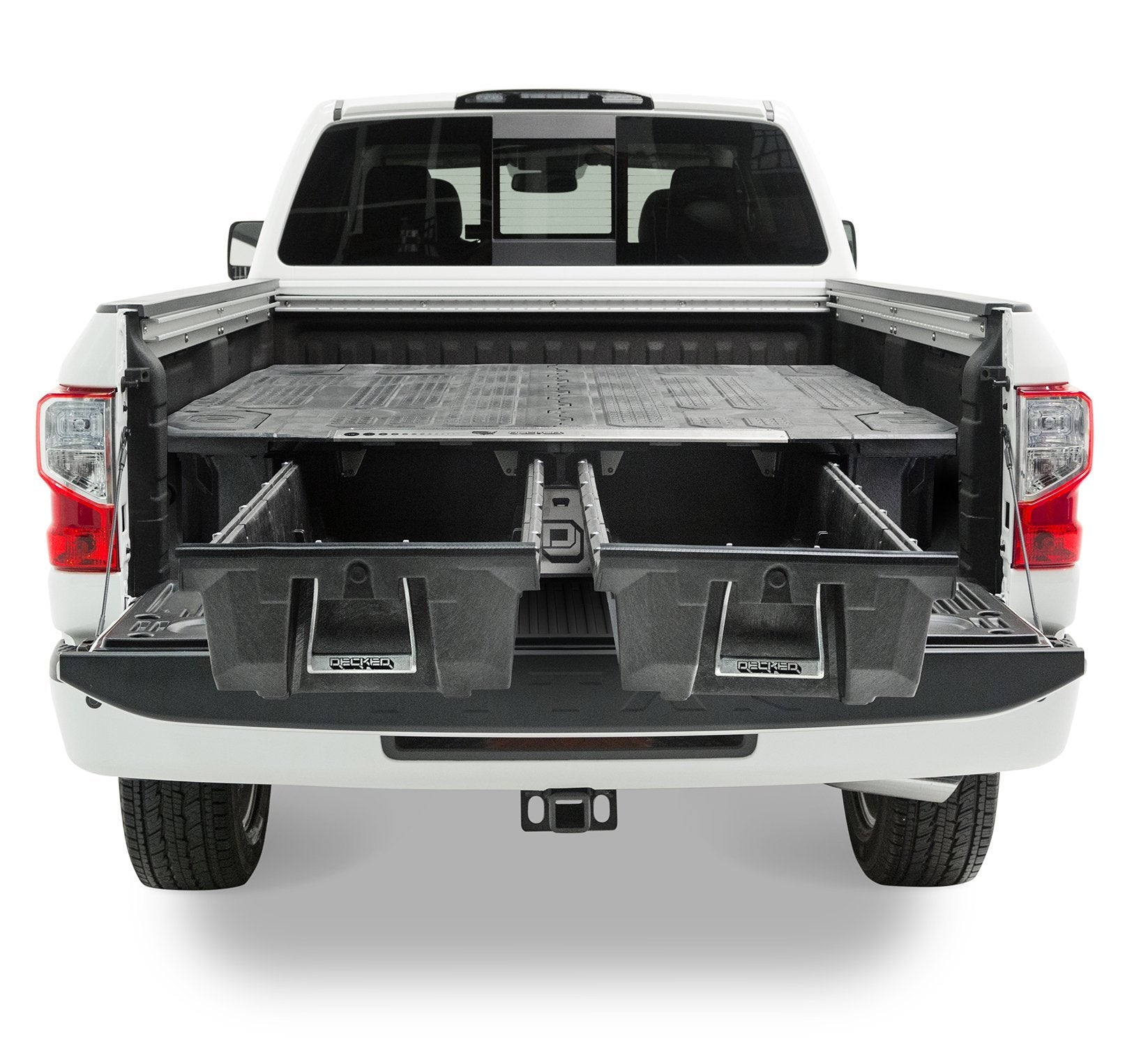 DECKED Nissan Titan Truck Bed Storage System and Organizer. Current Model.