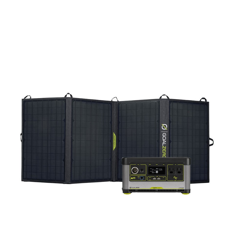 GOAL ZERO YETI 500X POWER STATION + NOMAD 50 SOLAR KIT