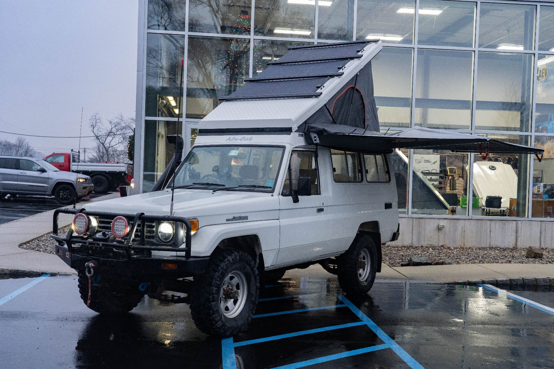 Alu Cab Hercules Conversion for Toyota Land Cruiser Troopy