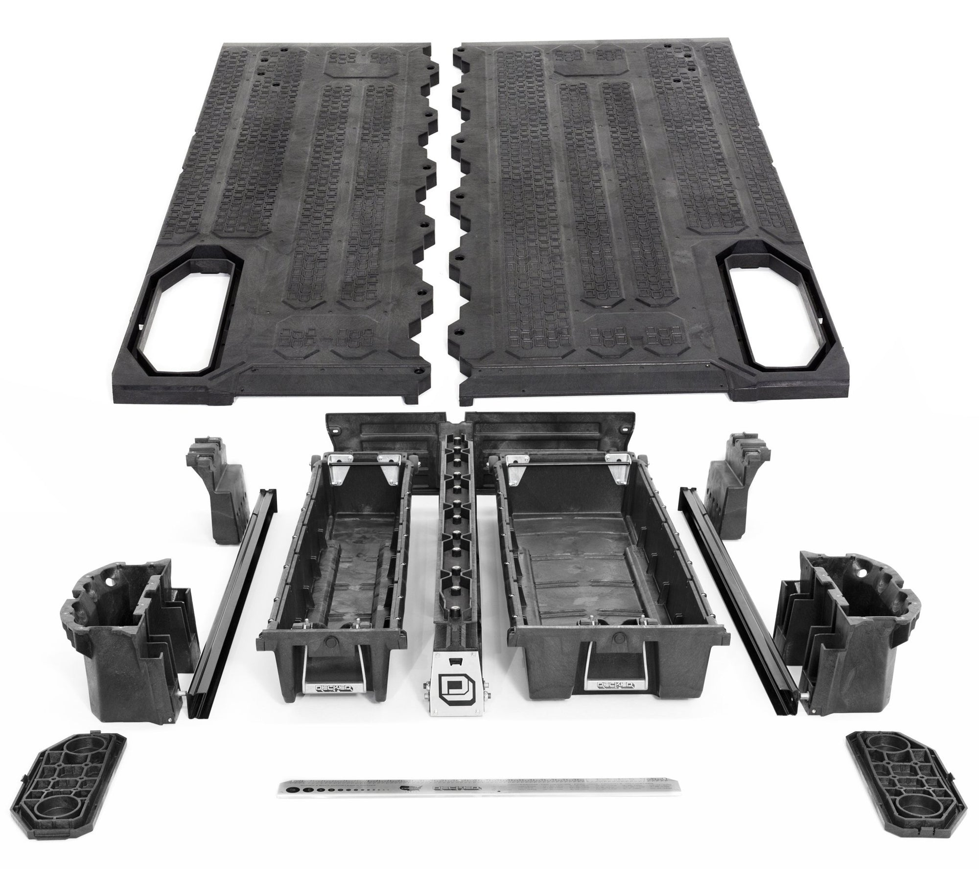 DECKED Nissan Frontier Truck Bed Storage System and Organizer. Current Model.