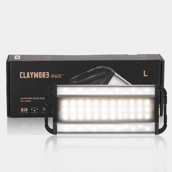 Claymore [3 FACE+] Rechargeable Area Light (Large)