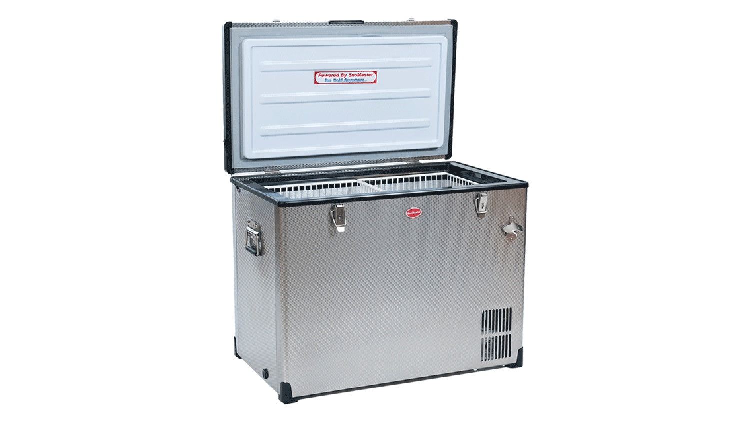 SnoMaster EXPEDITION SERIES (EX95) Stainless Steel AC/DC Fridge/Freezer