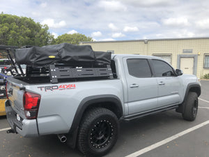 2005-2020 Toyota Tacoma Overland Bed Rack - Cali Raised LED