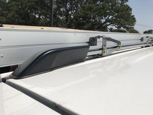 Toyota 4Runner Canopy/ Awning Mounts For Factory Roof Rail - Rago Fabrication