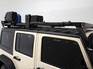 Front Runner Jeep Wrangler JKU 4 Door (2007-2017) Full Slimline II Extreme Roof Rack Kit