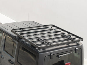 Front Runner Jeep Wrangler JKU 4 Door (2007-2017) Slimline II Extreme 1/2 Roof Rack Kit