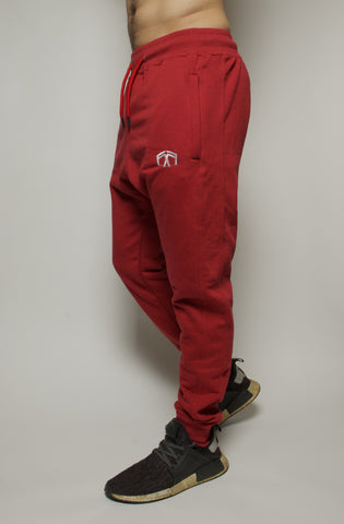 Hex Joggers- Red Rose