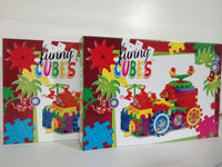 FUNNY CUBES / LOT 2 BOITES