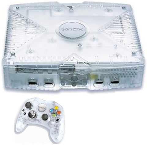 Original xbox crystal edition + 10 games only £35.