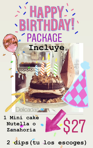 Happy birthday package