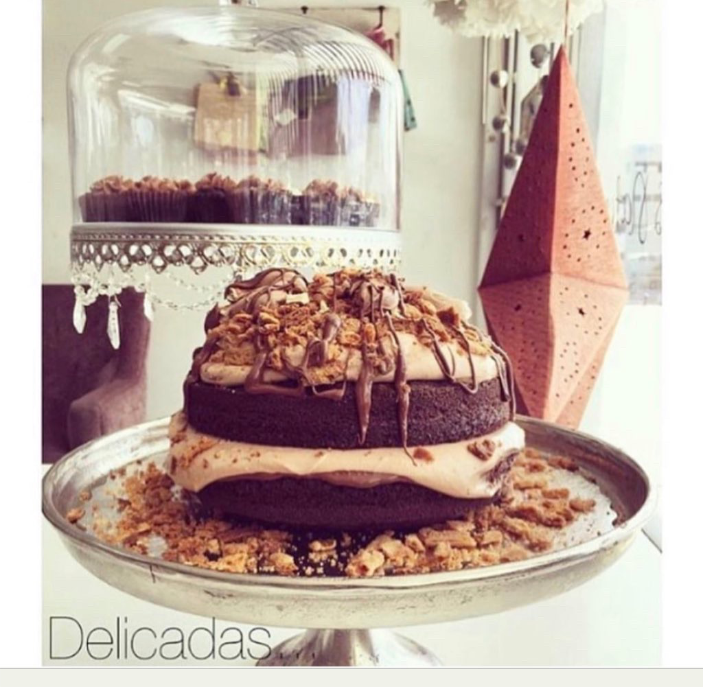 Chocolate Nutella double cake grande