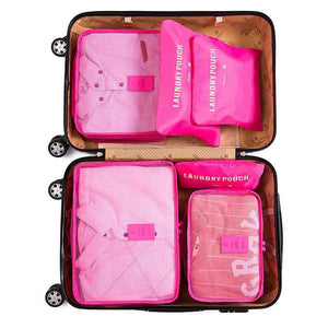 6pcs Packing Cube Travel Bag Organizer Set - Novelty PH