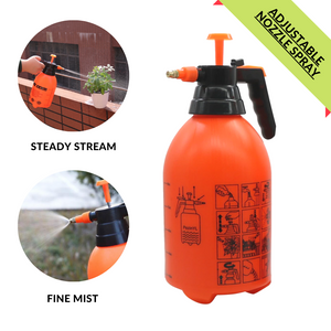 2L Portable Pressure Pump Sprayer