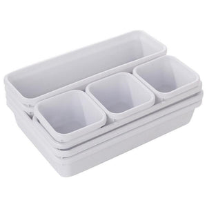 8pcs Home & Kitchen Drawer Organizers