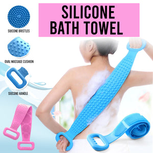 Silicone Bath Towels (Buy 1 Take 1 FREE)