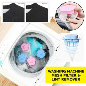 Laundry Filter & Lint Remover (4pcs Set)