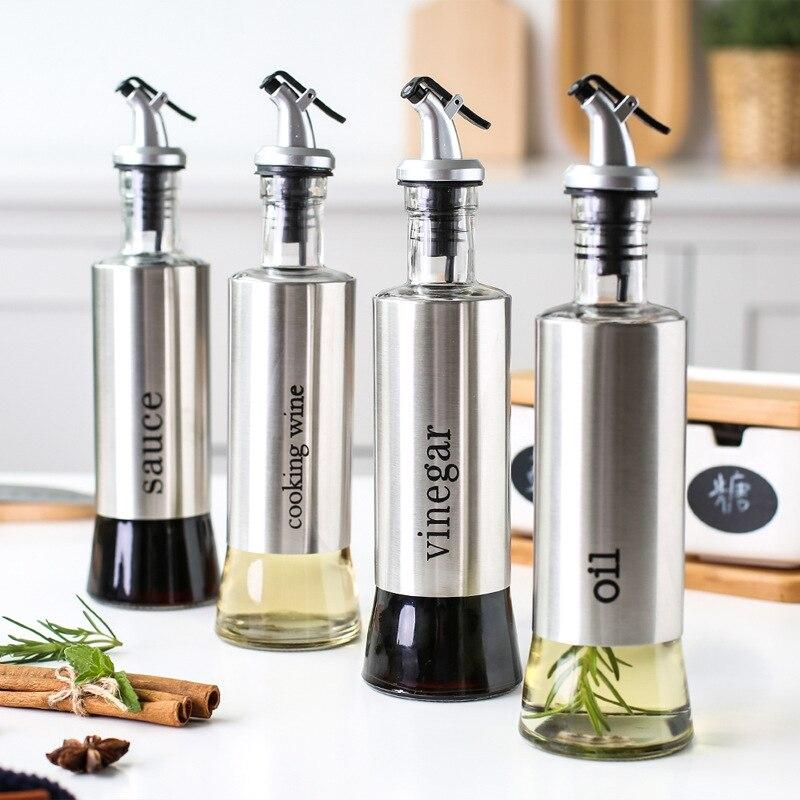 4pcs Set - Condiment Bottles