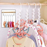 8pcs Set Magic Hanger Space Saver