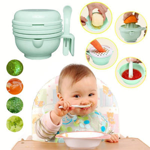9pcs Baby Food Tool Set