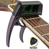 IDEAL™ Capo Tuner with FREE pick holder