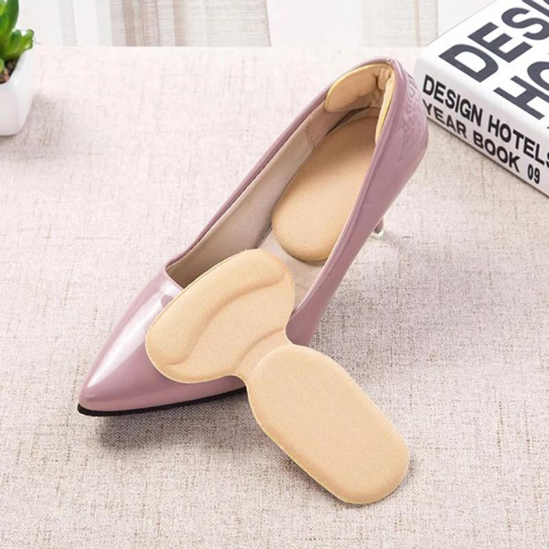 2 pcs Set Non-Slip Heel Protector with FREE Shoe Bag