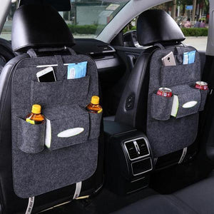 2 Pcs Car Seat Back Multi Pocket Storage Bag Organizer - Novelty PH