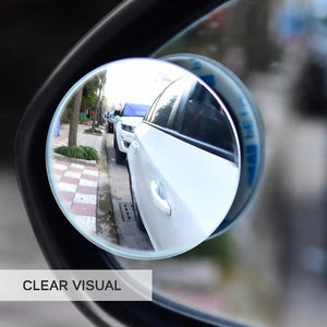2pcs 360-degree Car Blind Spot Wide-Angle Mirror - Novelty PH