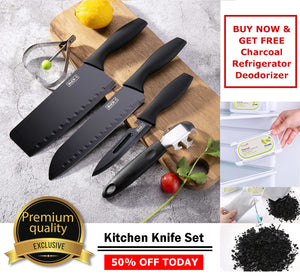 Premium Quality Kitchen Knife Set - PROMO A