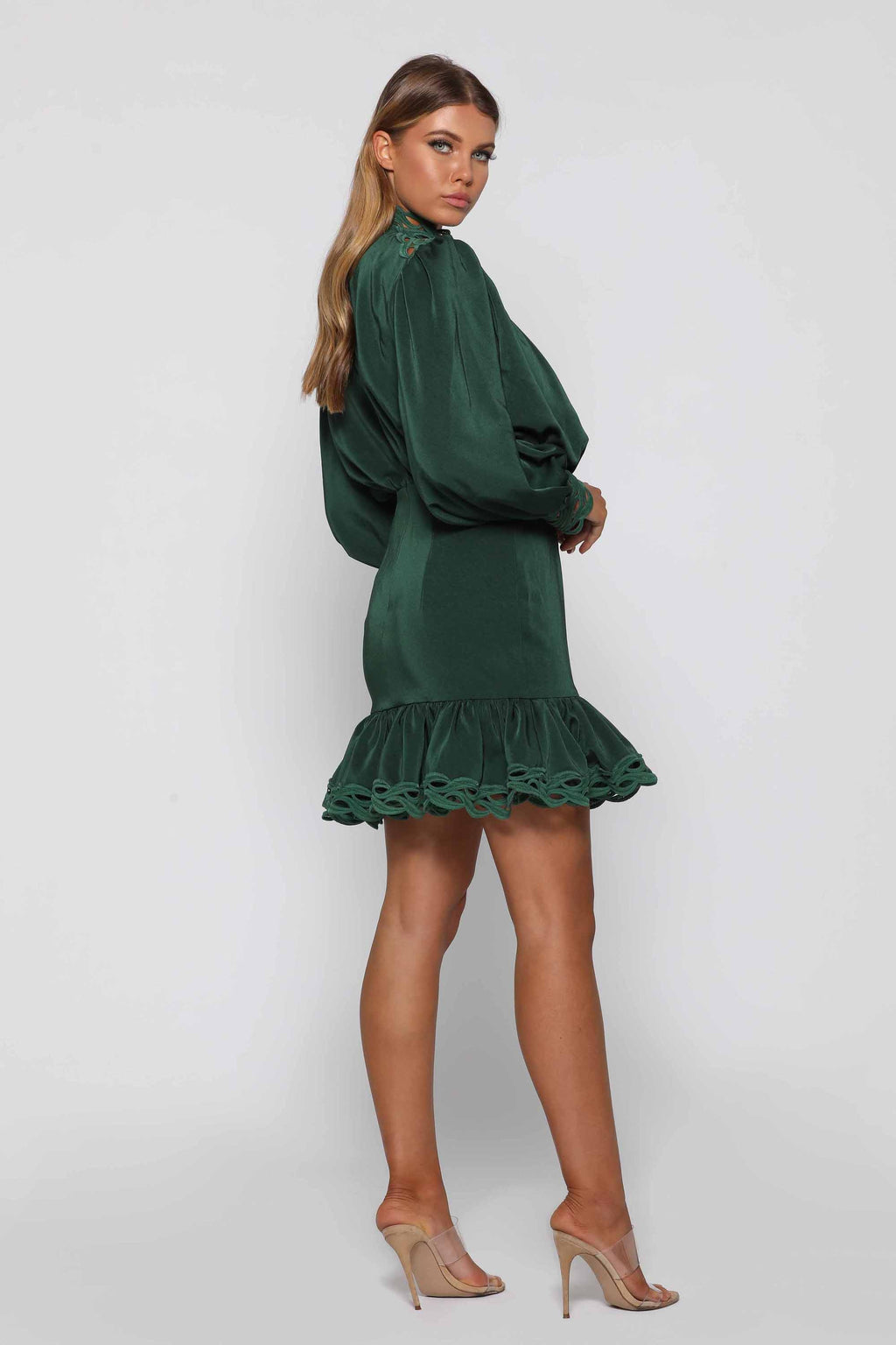 Beth Ruffled  Dress