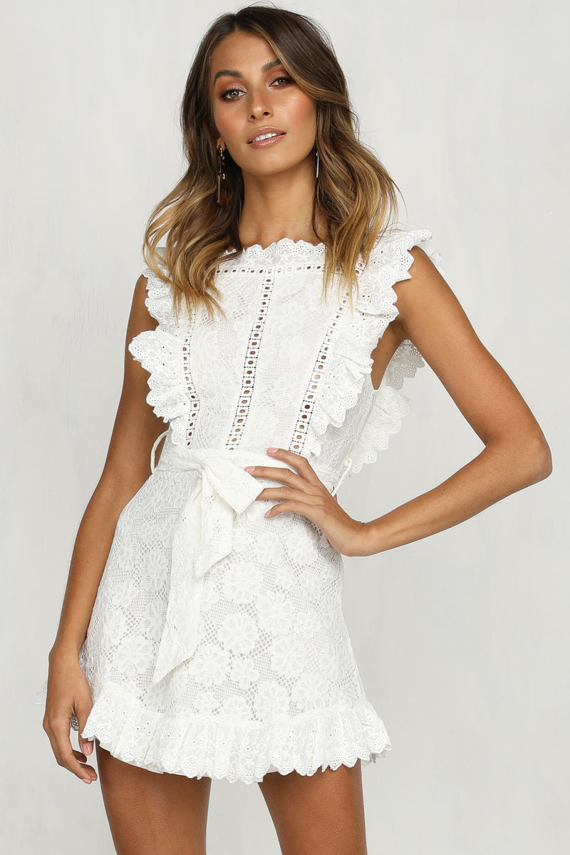 Simone Lace Dress