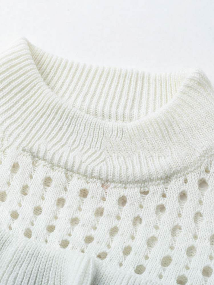 Holly Ruffles Sweater