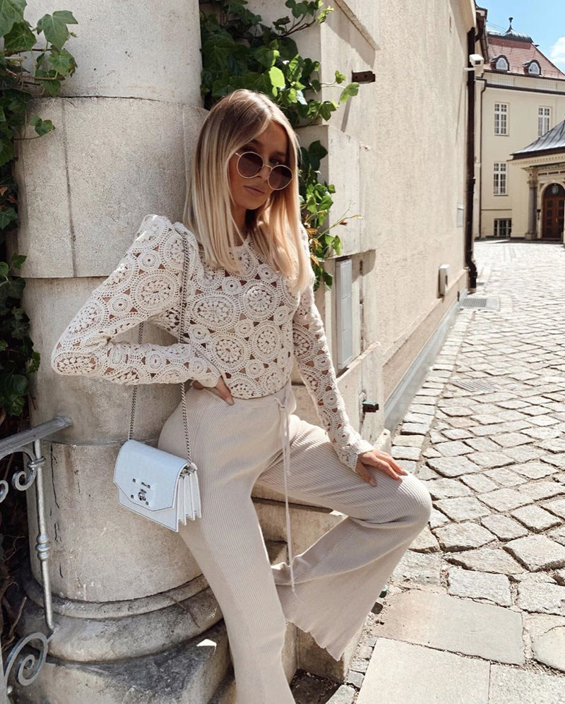 Stassia Lace Blouse