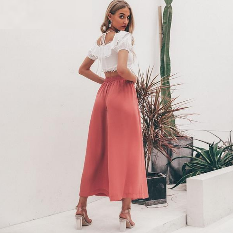 Citrus Wide Leg Pants