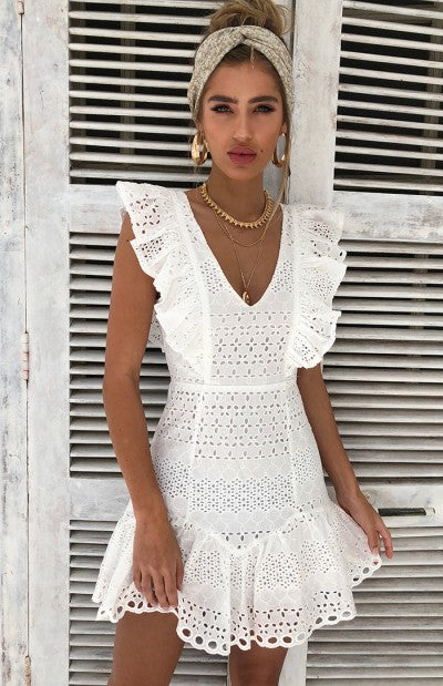 Gina Crochet Dress