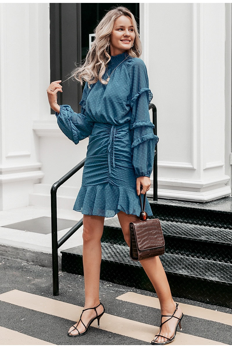 Samira  Ruffle Dress