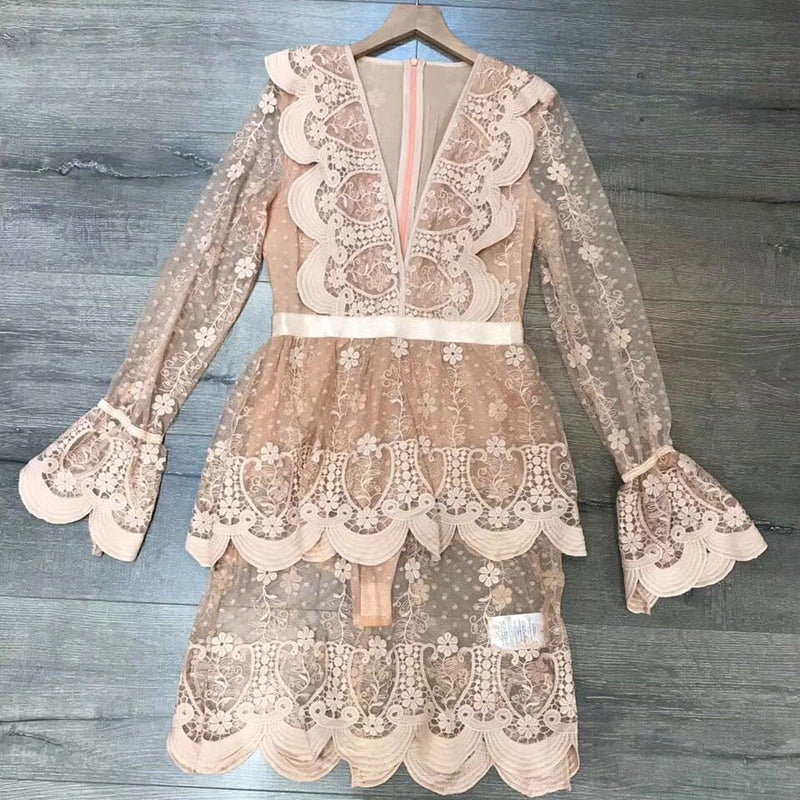 Celine Lace Dress