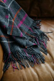 Patterned Merino Throws