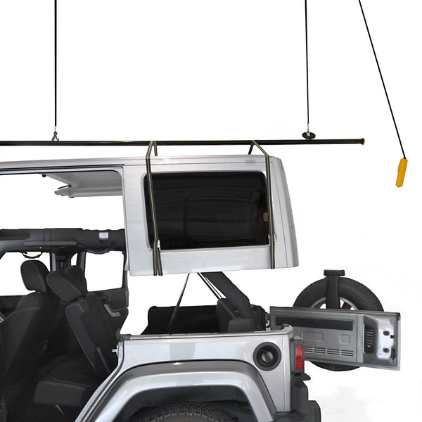 Jeep Roof Storage Lift Kit – 220 lb
