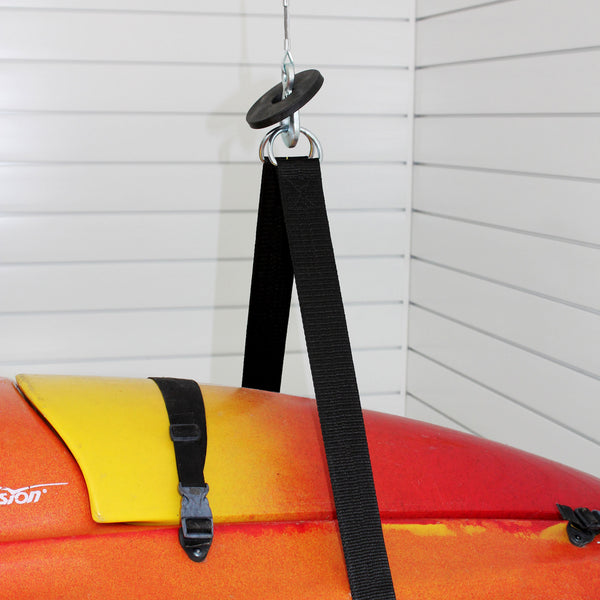 Single Canoe and Kayak Storage Lift – 220 lb