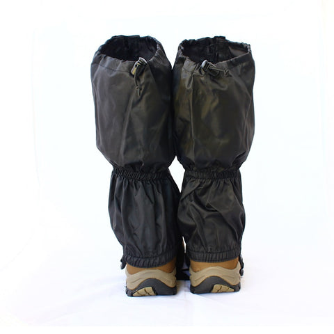 1 pair  Waterproof Gaiter Outdoor Hiking Walking Climbing Hunting Snow Ski Legging Gaiters