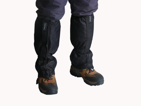 1 pair waterproof  outdoor hiking  walking climbing  snow legging gaiters