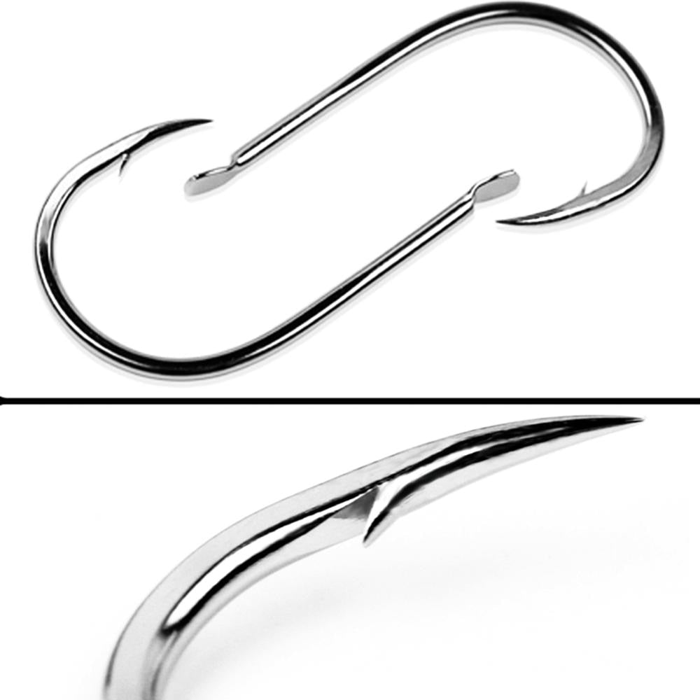 100pcs/1box Fishing Hooks Set High Carbon Steel Single Fishhook Fly Fishing Jip Barbed Carp Hooks Sea Tackle Accessories Tool