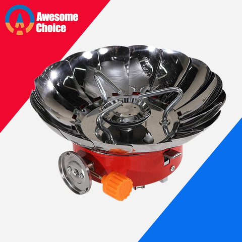 15 Windshields Windproof Stove Cooker Cookware Gas Burners for Camping Picnic Cookout BBQ With