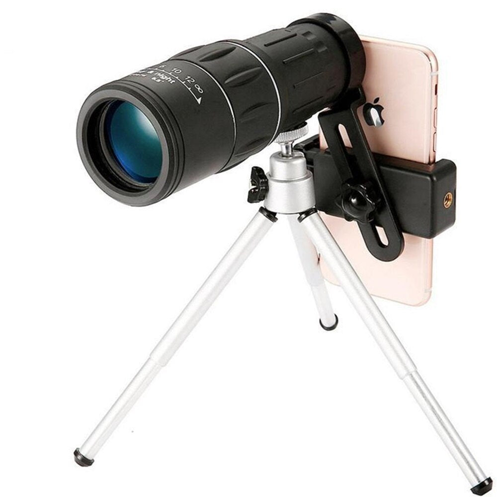 16X52 Dual Focus Monocular telescope Hunting Spotting upgrade Handheld For Tourism Sightseeing