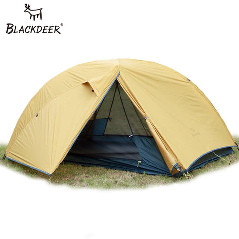 2 Person Upgraded Ultralight Tent 20D Nylon Silicone Coated Fabric Waterproof Tourist Backpacking