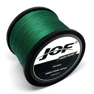 2018 JOF 300m 500m 1000m 10LB - 80LB PE Multifilament 4 Strands Braid Line Ocean Fishing Super