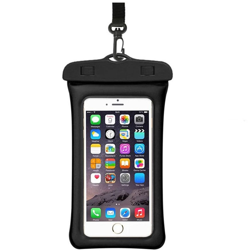 2019 Runseeda 6Inch Floating Airbag Swimming Bag Waterproof Mobile Phone Pouch Cell Phone Case For
